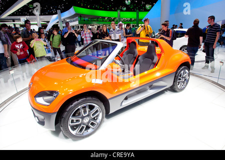 Volkswagen, VW up Buggy, 64th International Motor Show, IAA, 2011, Frankfurt am Main, Hesse, Germany, Europe - Stock Photo