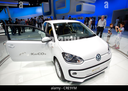 Volkswagen, VW Eco up, 64th International Motor Show, IAA, 2011, Frankfurt am Main, Hesse, Germany, Europe - Stock Photo