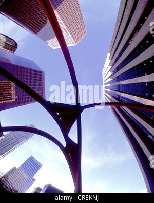 Down Town, USA, California, Los Angeles - Stock Photo