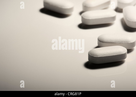 Close up of pills - Stock Photo