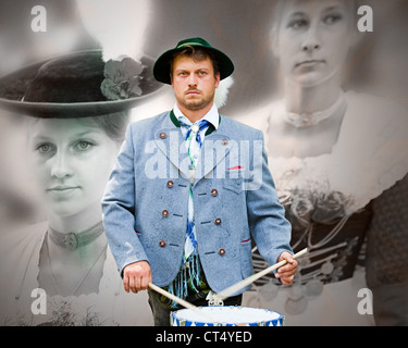 DE - BAVARIA: 85th Loisachgaufest in Bad Toelz (28 June to 02.July 2012) - Stock Photo