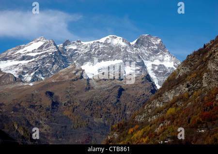 west side of monte rosa massif and gorner glacier wallis alps stock photo royalty free image. Black Bedroom Furniture Sets. Home Design Ideas