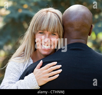 Couple interracial married photo
