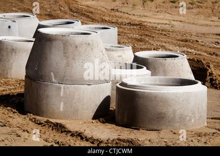 drainage drain water  highway stock photo royalty
