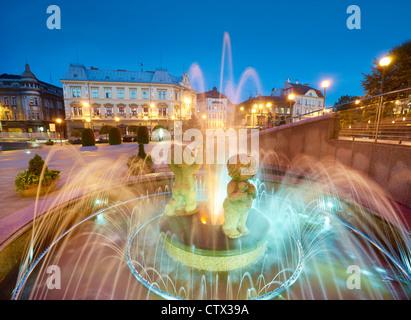 Bielsko-Biala, Silesia region, Poland, Europe - Stock Photo