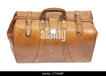 Old-Fashioned Hand Luggage - Stock Photo