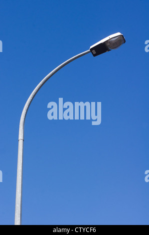 a street light with blue sky backgrounds - Stock Photo
