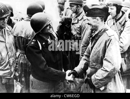 Second French Armored Division returns to France, Summer 1944 - Stock Photo