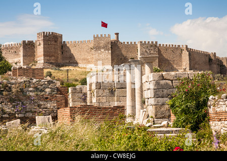 Ayasuluk Fortress, Selcuk, Izmir, Turkey Stock Photo ...