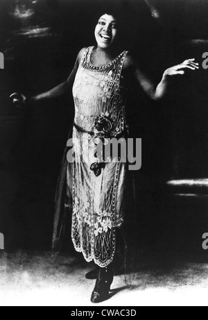 Bessie Smith, blues singer, 1920s. Courtesy: CSU Archives / Everett Collection - Stock Photo