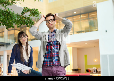 Fashion designers working in an office - Stock Photo