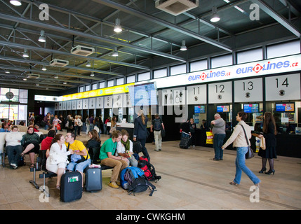 Autobusove nadrazi Praha - Florenc, Praha, Ceska republika - Stock Photo