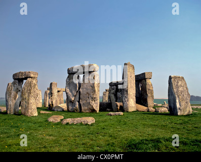 8269. Stonehenge, Wiltshire, England, Europe - Stock Photo