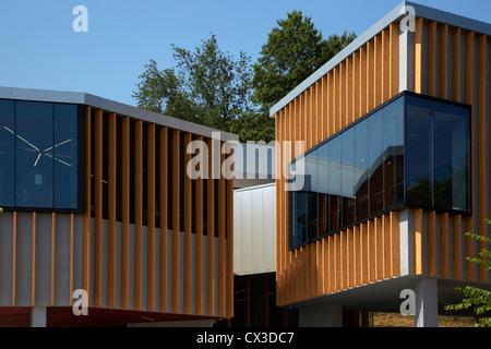 The William O. Lockridge/Bellvue Library, Washington, United States. Architect: Adjaye Associates, 2012. - Stock Photo