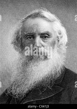 Samuel F. B. Morse (1791-1872), American Inventor, Portrait - Stock Photo