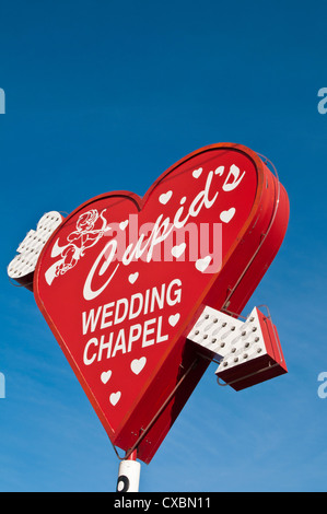 Cupid's Wedding Chapel, Las Vegas, Nevada, United States of America, North America - Stockfoto