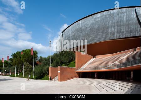 Auditorium Parco della Musica, designed by architect Renzo Piano. Rome, Italy, Europe - Stock Photo