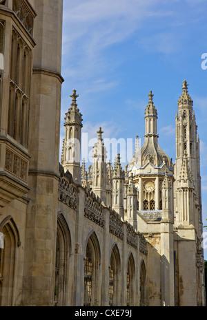 Kings College Chapel, University of Cambridge, Cambridge, England - Stock Photo
