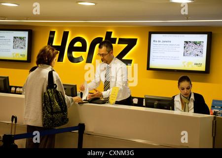 hertz rent a car stock photo royalty free image 38306185 alamy. Black Bedroom Furniture Sets. Home Design Ideas