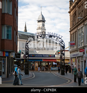 Leicester Market, Leicester, England, UK Stock Photo, Royalty Free Image: 89158230 - Alamy