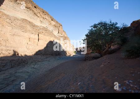 sesriem valley in Namib-Naukluft Park, Namibia - Stockfoto