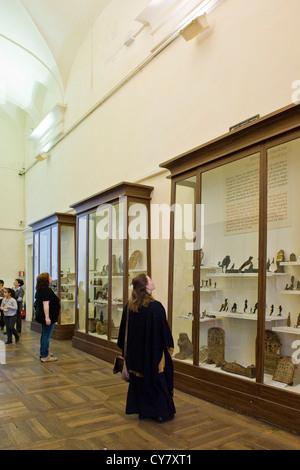 Italy, Piedmont, Turin, Egyptian Museum - Stock Photo