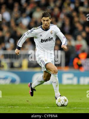 6.11.2012, Football, Champions League 2012/2013, 4. matchday, Estadio Santiago Bernabeu, Madrid, Spain, Real Madrid - Stock Photo