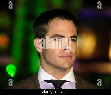 London, UK. 15th November 2012. Chris Pine attends the UK Premiere of Rise of the Guardians on 15/11/2012 at The - Stock Photo