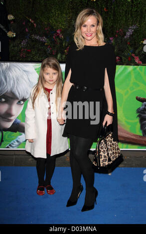 Amanda Holden London - UK Premiere of 'Rise of the Guardians' at the Empire, Leicester Square, London - 15th November - Stock Photo
