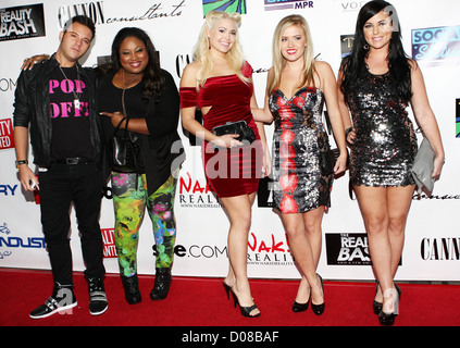 Bad Girls Club cast The Reality Bash, celebrating stars of reality television held at Industry nightclub Los Angeles, - Stock Photo