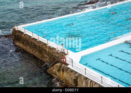 Bondi Iceberg baths, Sydney Australia - Stockfoto