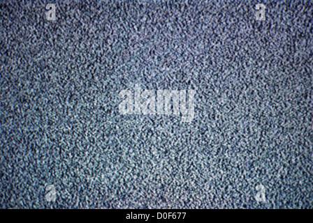 Analog TV antena noise - Stock Photo