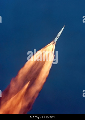 Launch of Apollo 11 - Stock Photo