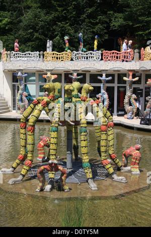 Bruno weber art park sculpture park dietikon colorful for M park geneve