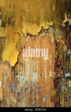 Flaking Yellow Paint Stock Photo Royalty Free Image 25681717 Alamy