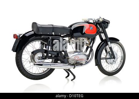 1960 MV Agusta 235 Tevere motorcycle isolated over white background - Stockfoto