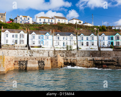 houses at the harbour of porthleven cornwall england great stock photo royalty free image. Black Bedroom Furniture Sets. Home Design Ideas