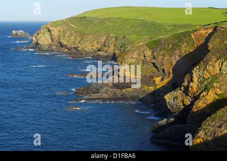 Lizard Point, The Lizard, Cornwall, England, United Kingdom, Europe - Stock Photo