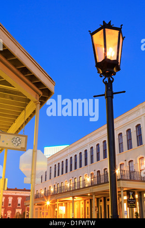Historic Strand District, Galveston, Texas, United States of America, North America - Stock Photo
