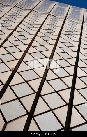 Sydney Opera House close up, UNESCO World Heritage Site, Sydney, New South Wales, Australia, Pacific - Stock Photo