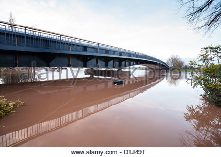 Britain in Flood - Stockfoto