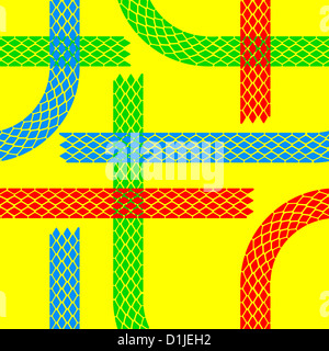Seamless wallpaper tire tracks pattern illustration vector background - Stock Photo