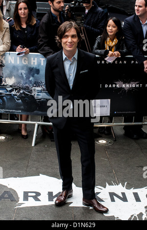 Cillian Murphy, attends the European premiere of the 'The Dark Knight Rises' Leicester Square, London, UK, 18/07/2012. - Stock Photo