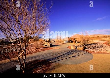 USA Nevada Clark County Las Vegas Back Yard Stock Photo Royalty Free Image 74101745