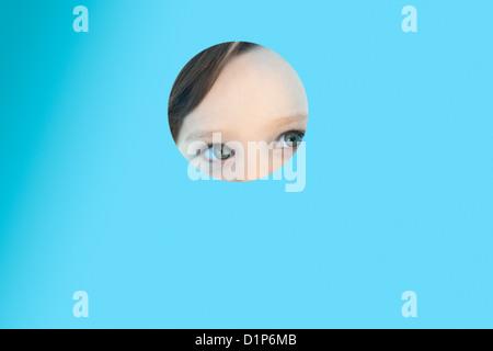 Hide-and-seek - Stock Photo