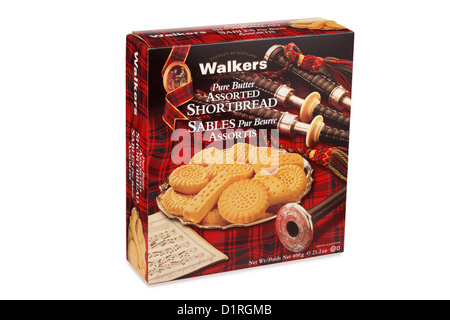 Package of Shortbread - Stock Photo