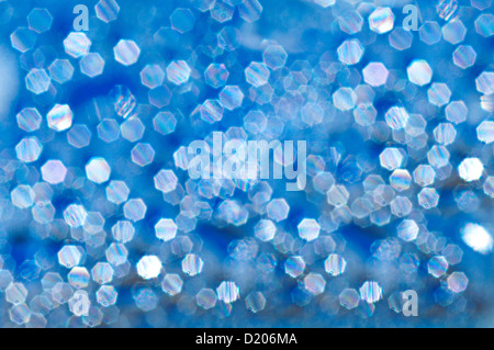Defocused Lights in Abstract Depiction - Stock Photo
