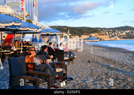 promenade des anglais and beach nice france stock photo royalty free image 18524109 alamy. Black Bedroom Furniture Sets. Home Design Ideas