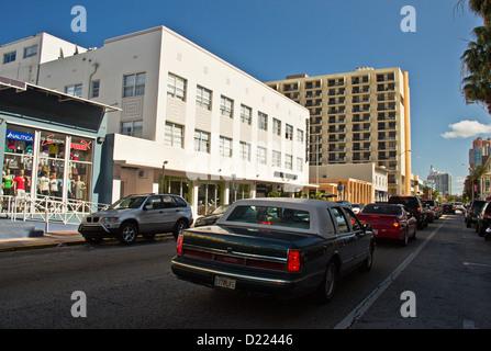 Collins Avenue And Th Street View Miami Beach