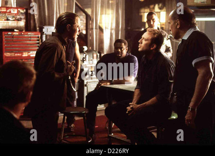 Nur Noch 60 Sekunden  Gone In Sixty Seconds  Giovanni Ribisi, Chi McBride, Vince Jones, Nicolas Cage, Robert Duvall - Stock Photo
